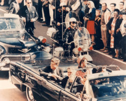 The assassination of John F. Kennedy, the thirty-fifth President of the United States...