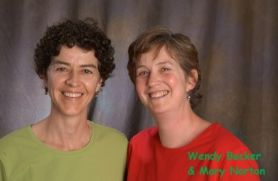 Wendy Becker and Mary Norton
