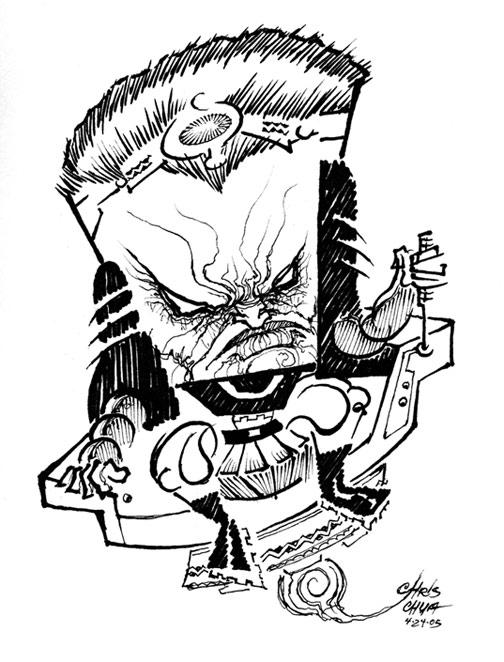 *CHRIS CHuA---Controlled CHaOs---!CARICATURES! / ART blog