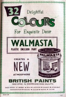 Walmasta Plastic Emulsion Paint - British Paints, Calcutta