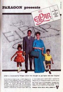 Paragon Elpar synthetic fibre fabrics - Paragon Textile Mills, Bombay
