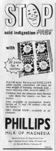 Phillips Milk of Magnesia - Tablets (Dey's Medical Stores (Mfg) Private Ltd., Calcutta)