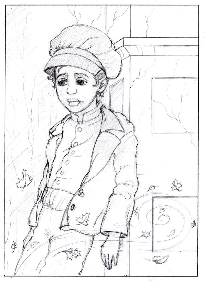 oliver twist withdoger colouring pages