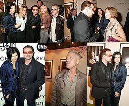 Bono, Ali, Adam y one