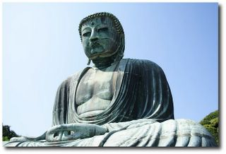 Le Daibutsu - grand bouddha - de Kamakura