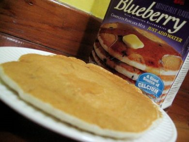 Krusteaz blueberry pancakes