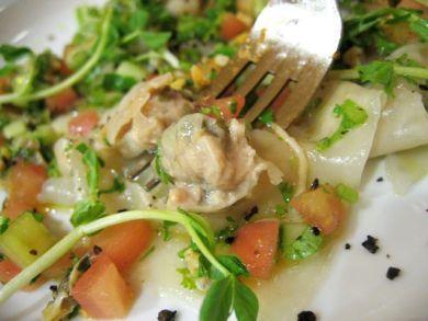 oyster ravioli
