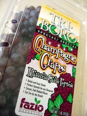 tri-boro champagne grapes