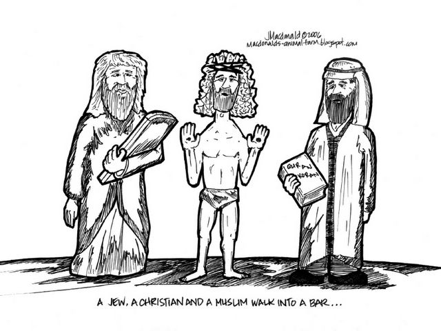 Kenapa ke tiga umat agama samawi itu selalu bersengketa