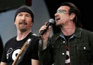 Live 8 Bono The Edge