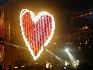 U2 heart london