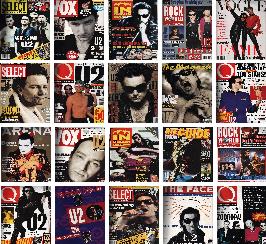 U2 magazine covers