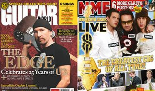 U2 cover magazine : NME Guitar World