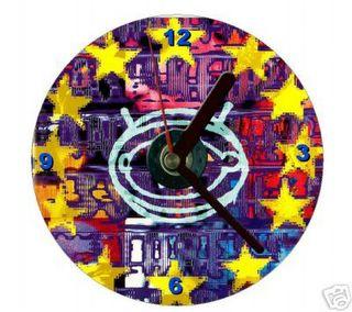 U2 ZOOROPA clock