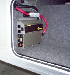 how to do just about anything in an rv how to 6 installing an inverter in your rv [ 1024 x 768 Pixel ]