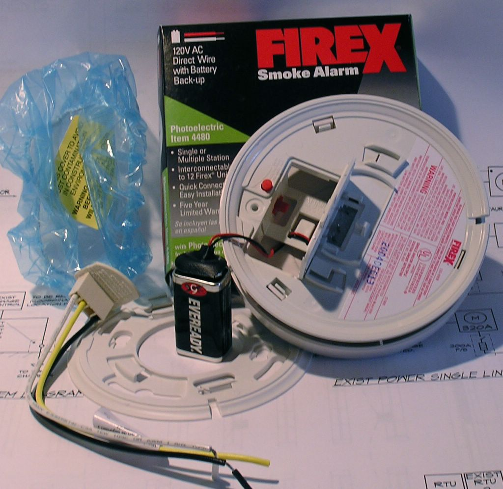 Hard Wired Smoke Detectors Batteries On Hard Wired Smoke Alarm Wiring