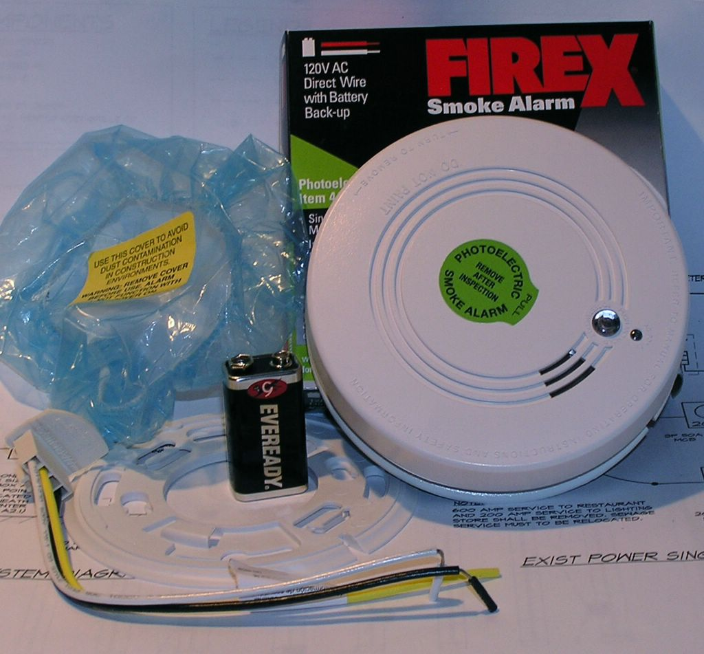 firex smoke detector wiring diagram house electrical how to install a hardwired alarm  new branch