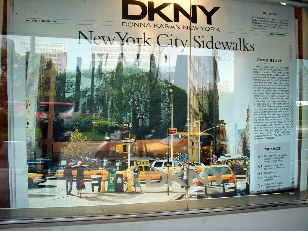 水瓶子的城市慢步: 【臺北】仁愛路圓環 DKNY
