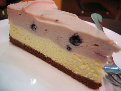 Blueberry Cheesecake from Secret Recipe