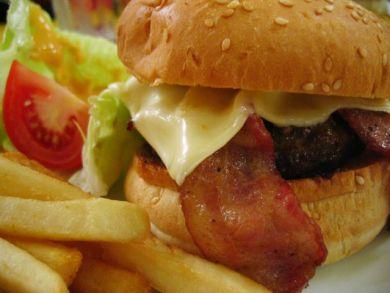 Clarity Café's Burger