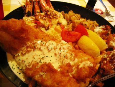 Manhattan Fish Market Seafood Platter