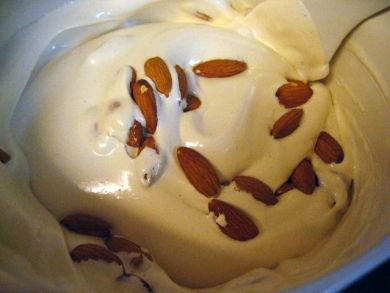 almonds in torrone