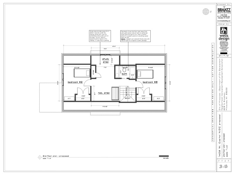 Case study house sketchup
