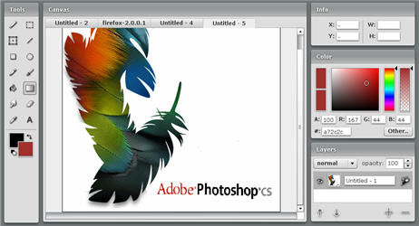 Edit Pictures Online in Adobe Photoshop Style with Fauxto