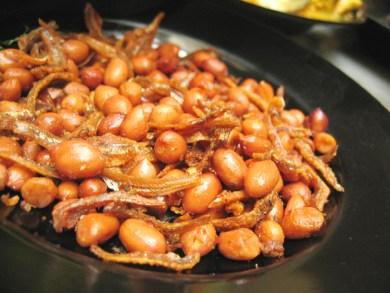 Peanut and Ikan Bilis