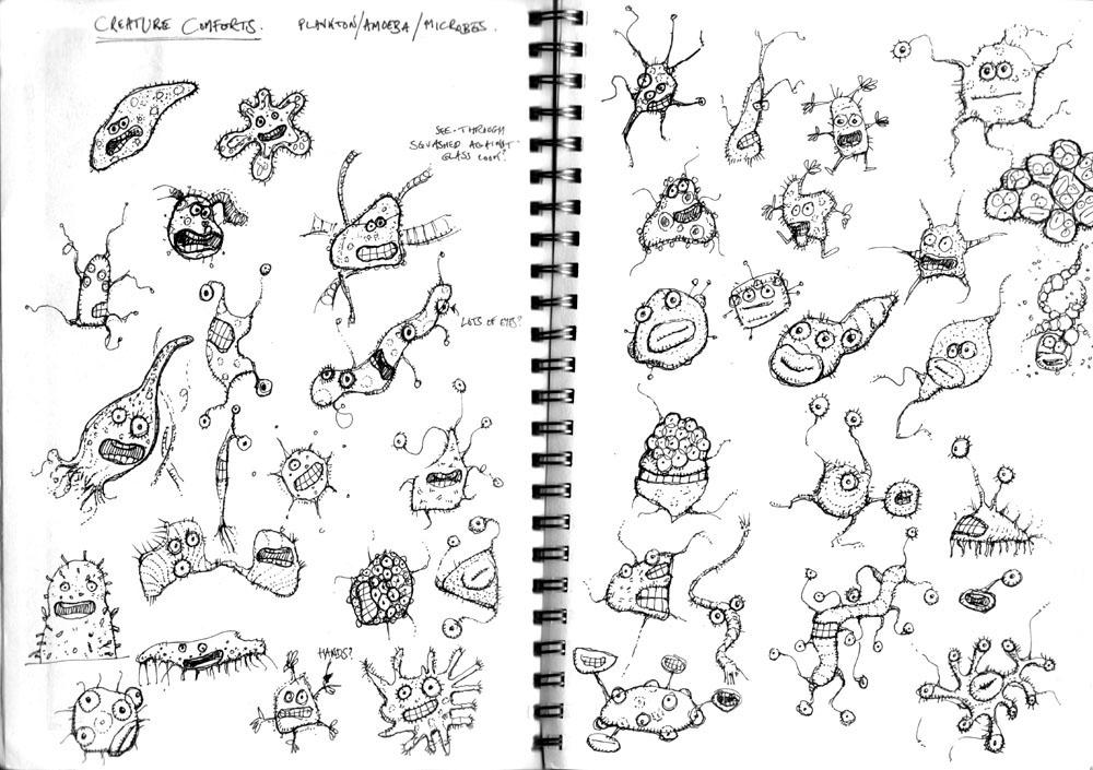 stefan's sketch blog: Creature Comforts