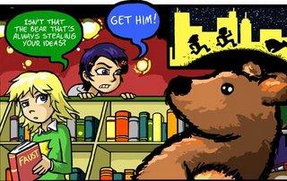 Stupid bears, always causing trouble...