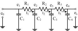 MATLAB 之工程應用: 10.7 電路中CR過濾器之計算