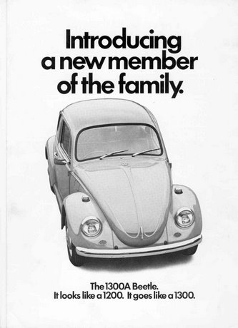 vw beetle rear suspension diagram thermostat wiring 5 wire the 1300a web page front cover of original brochure