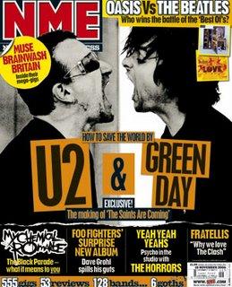 U2 y Green Day en NME