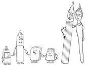 Pencil sharpener Illustrations and Clip Art. 264 pencil