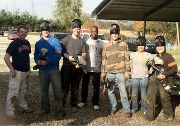 Paintball at SplatterPark  Columbus Outdoor Adventures