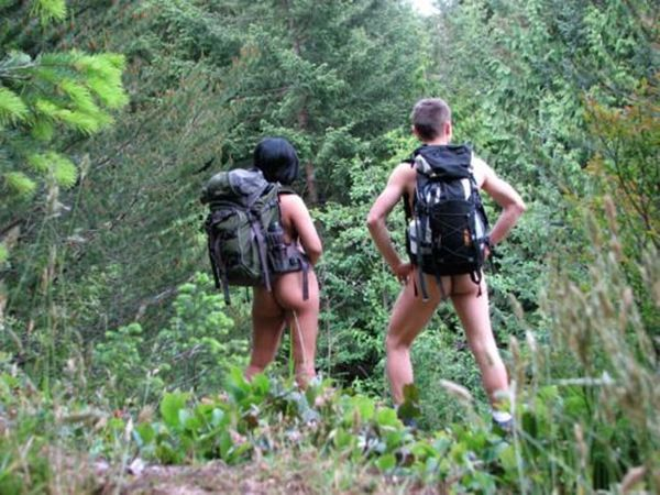 Image result for naked hiking