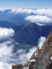 amazing views from mont blanc