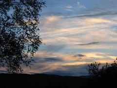 Sunset (before the rain)