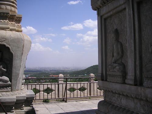 Skyline With Buddhas