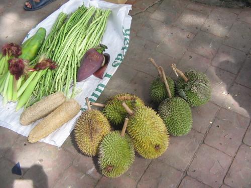 nak makan durian