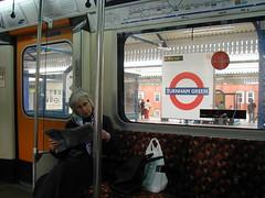 On the London 'Underground'