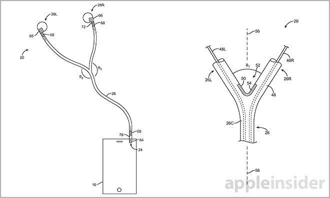Apple earphone invention detects multiple users, switches