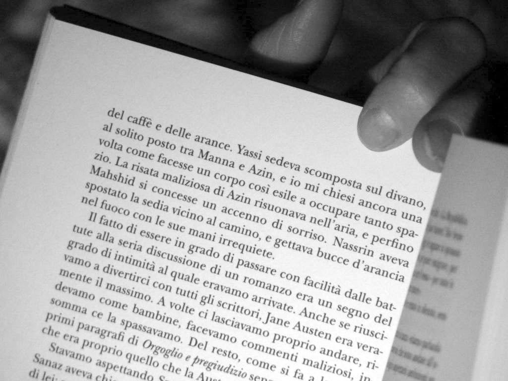 leggere lolita a teheran, di notte
