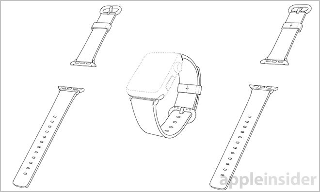 Apple patents Apple Watch Sport Band, Classic Buckle and