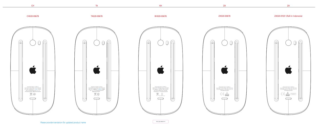 Apple to update Magic Mouse & wireless keyboard with