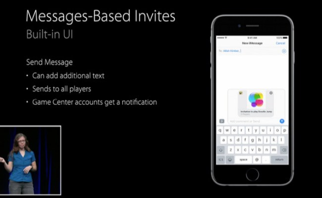 Inside Ios 10 With Game Center App Gone Invites Are