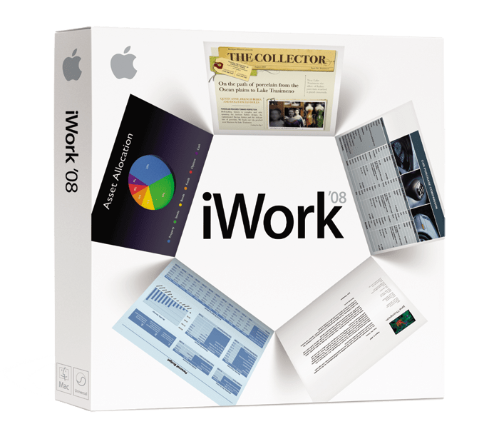 Apple introduces iWork '08 with 'Numbers' spreadsheet app