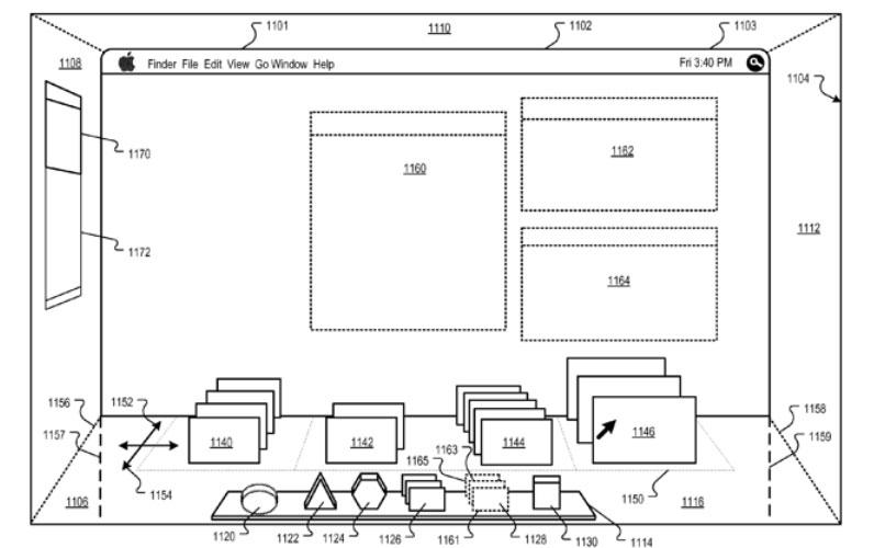 Apple working on 3D Mac OS X user interface (images)