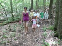 Barefoot Hiking Girls